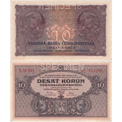 10 korun 1927