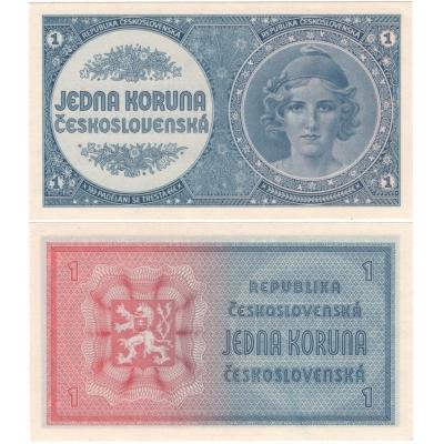 1 koruna 1946