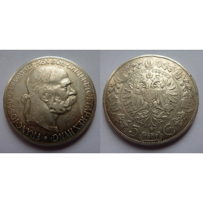 5 Crown 1907