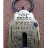 Historická kapesní váha - mincíř Krups