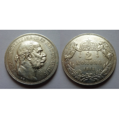 2 koruny 1912 K.B.