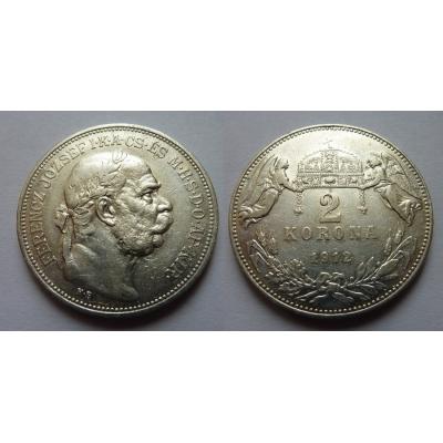 2 Kronen 1912 K.B.