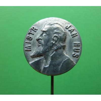 Mistr Jan Hus, odznak Karnet-Kyselý
