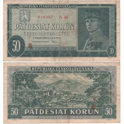 50 Korun 1948