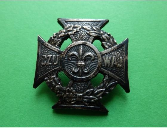 Skautský odznak CZU WAJ, číslovaný IK 3000