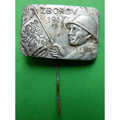 Zborov 1917, odznak jehla