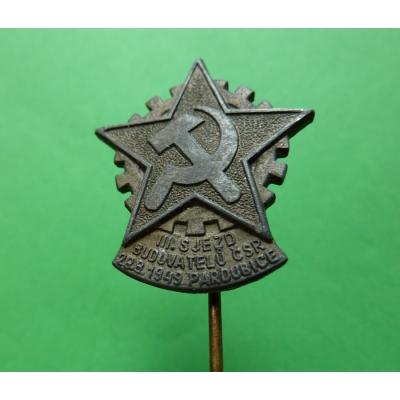 Pardubice - III. sjezd budovatelů republiky 1949