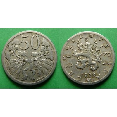50 haléřů 1926