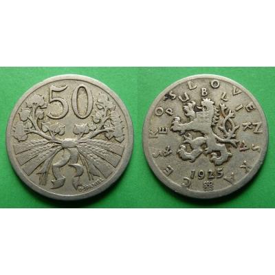 50 haléřů 1925