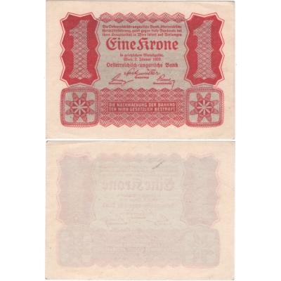 Österreich - Banknote 1 Krone 1922