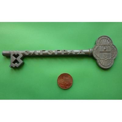 Volgograd, čestný klíč od města, 18cm