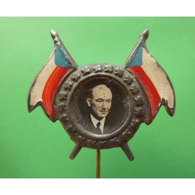 Jmenování Edvarda Beneše prezidentem 1936, odznak