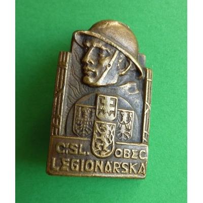 Československá obec legionářská, odznak připínací