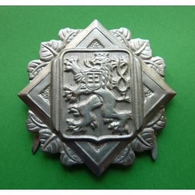 1. republika - hasičský odznak na lodičku