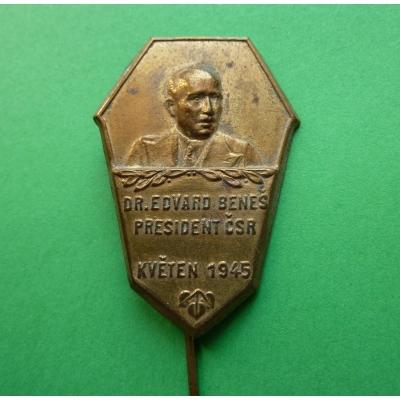 Odznak k návratu Edvarda Beneše z exilu 1945