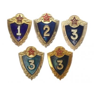 SSSR - sada vojenských odznaků