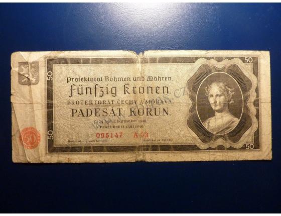 50 korun 1940 A03