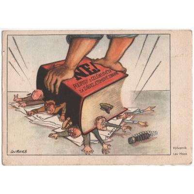 Pohednice - komunistická propaganda