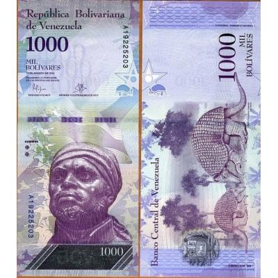 Venezuela - bankovka 1000 Bolivares 2017 UNC
