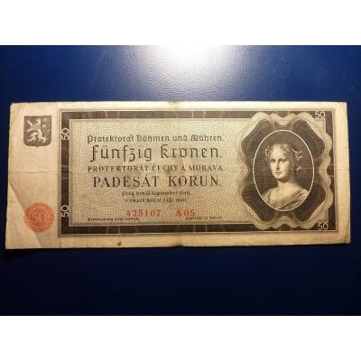 50 korun 1940 A05