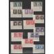 Poválečné československo - partie rohových aršíků s deskovými značkami