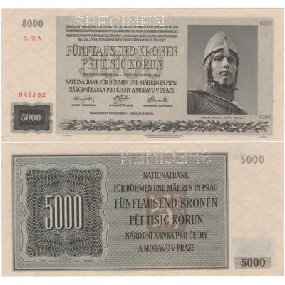 5000 korun 1944