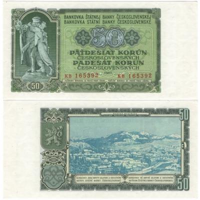 50 korun 1953, série KB, 3MD
