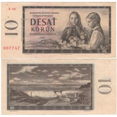 10 Korun 1960, série E