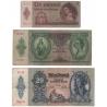 Maďarsko - sada bankovek platných na našem území