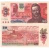 Slovensko - bankovka 50 korun 1987/1993, slovenský kolek