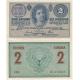 Austria Hungary - 2 crown banknote 1914, Series C