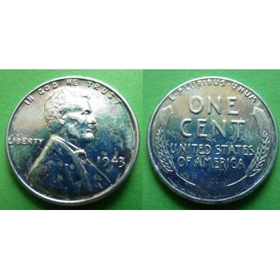 Spojené státy americké - 1 cent 1943
