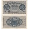 Německo - bankovka pro okupovaná území 5 marek 1939-1945, série A