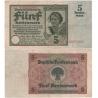 Německo - bankovka 5 Rentenmark 1926, série V