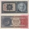 20 korun 1926 neperforovaná, série Mf