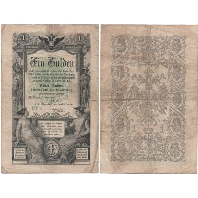 1 Gulden 1866