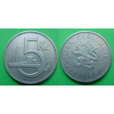 5 korun 1926