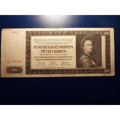 500 Kronen 1942 Ca