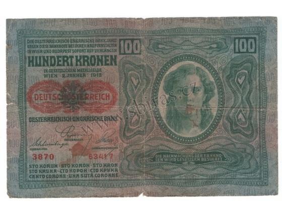 100 Crown 1912