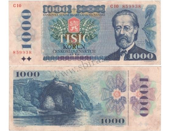 1000 korun 1985, série C