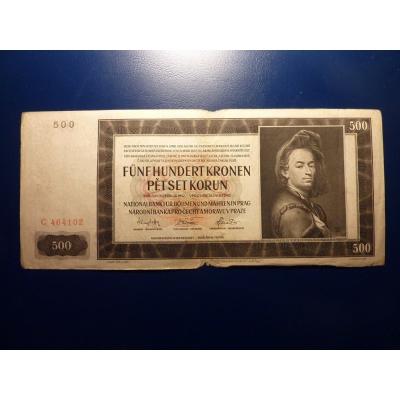 500 Kronen 1942 C