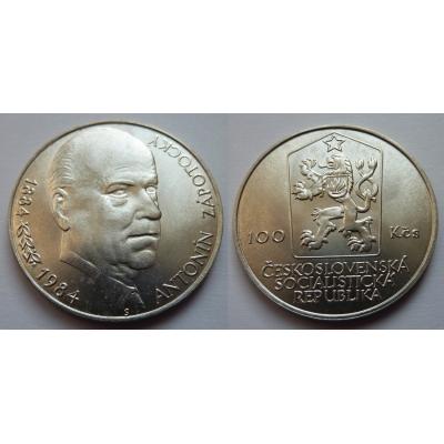100 korun 1984 - Antonín Zápotocký