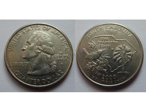 Spojené státy americké - 1/4 dolaru 2000