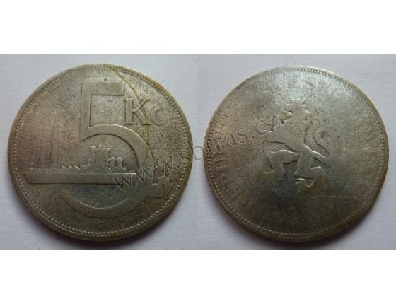 5 Crown 1929