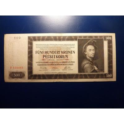 500 Kronen 1942 F