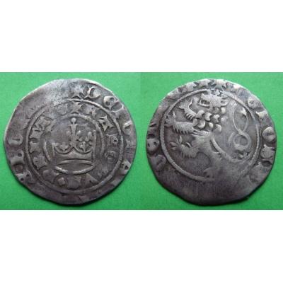 Pražský groš Karla IV.