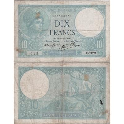 Francie - bankovka 100 francs 1941