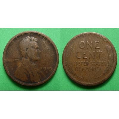 Spojené státy americké - 1 cent 1919 S