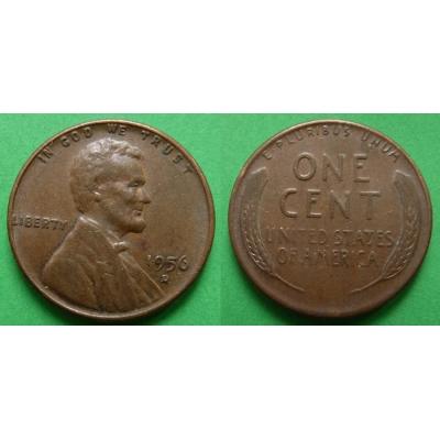 Spojené státy americké - 1 cent 1956