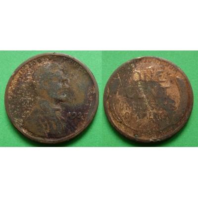 Spojené státy americké - 1 cent 1921